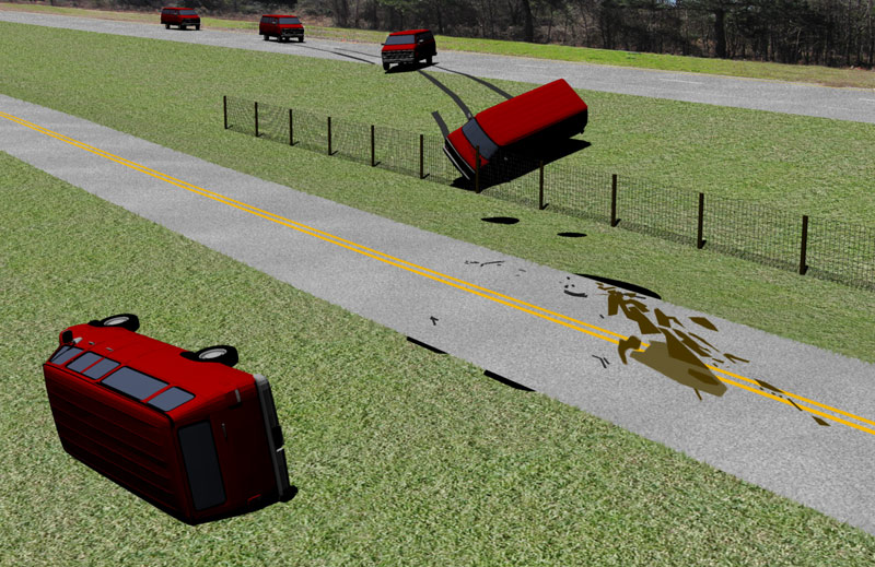 Accident Scene & Vehicle Drawings